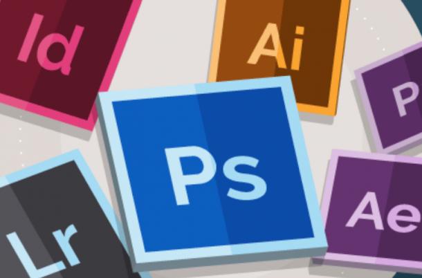 graphic design icons for Adobe Studios